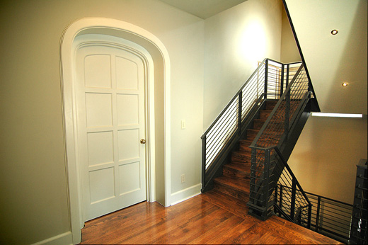 Curved-Door-Stairs