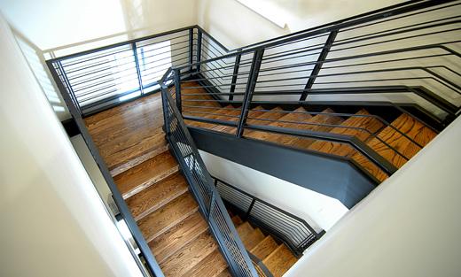 Metal-Oak-Stairs